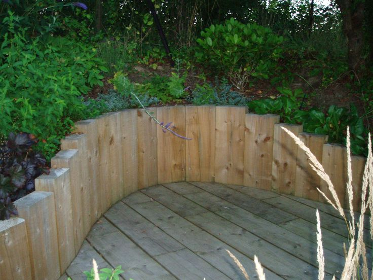 Raised Garden Retaining Wall