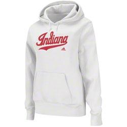 Indiana Hoosiers adidas Women's Fan Section Hooded Sweatshirt -White $49.99  http://www