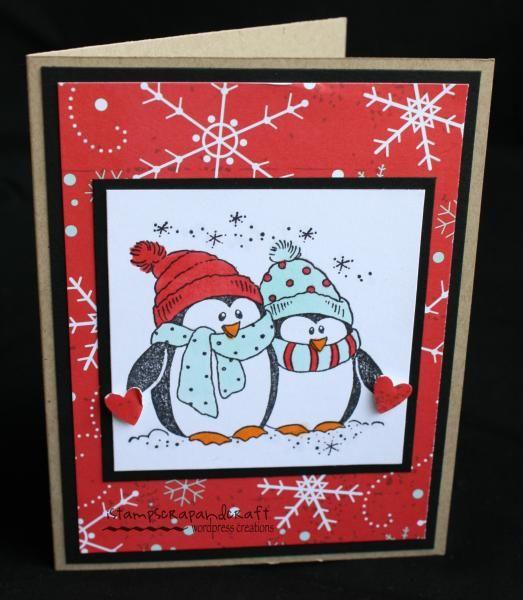adorable penguin card - bjl
