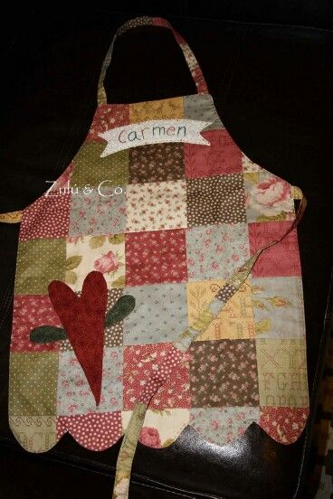 Simple cute apron