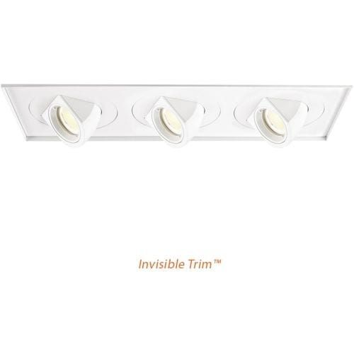 WAC Lighting MT-5LD325TL-F27 Multiple Spot 2700K High Output LED Recessed Light Square Trim - Energy Star Rated