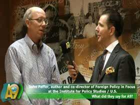 John Feffer, Politika İncelemeleri Enstitüsünde Dış Politika Direktör Yard. ve Yazar, ABD Video