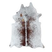 Found it at Wayfair - Natural Cowhide Brown Freckles Rug