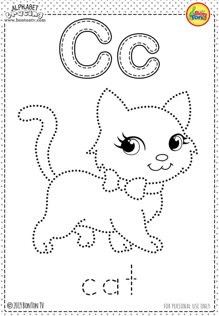 Free Preschool Printables - Alphabet Tracing and Coloring ...