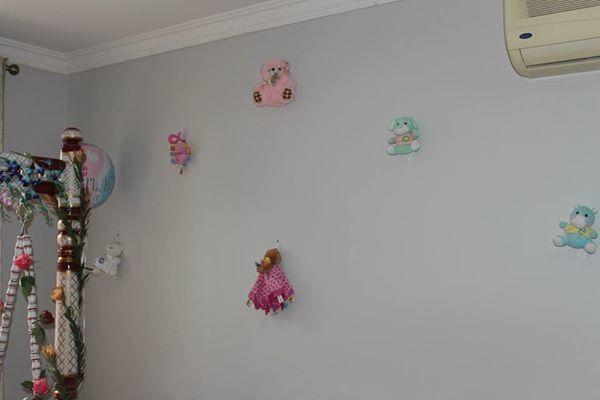 Soft plush toys decor Baby shower