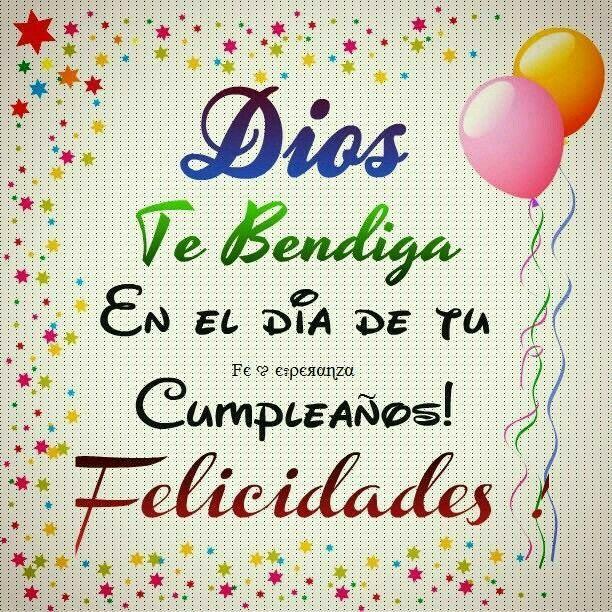 20 best Feliz Cumpleanos images on Pinterest Birthday cards, Birthday wishes and Birthday