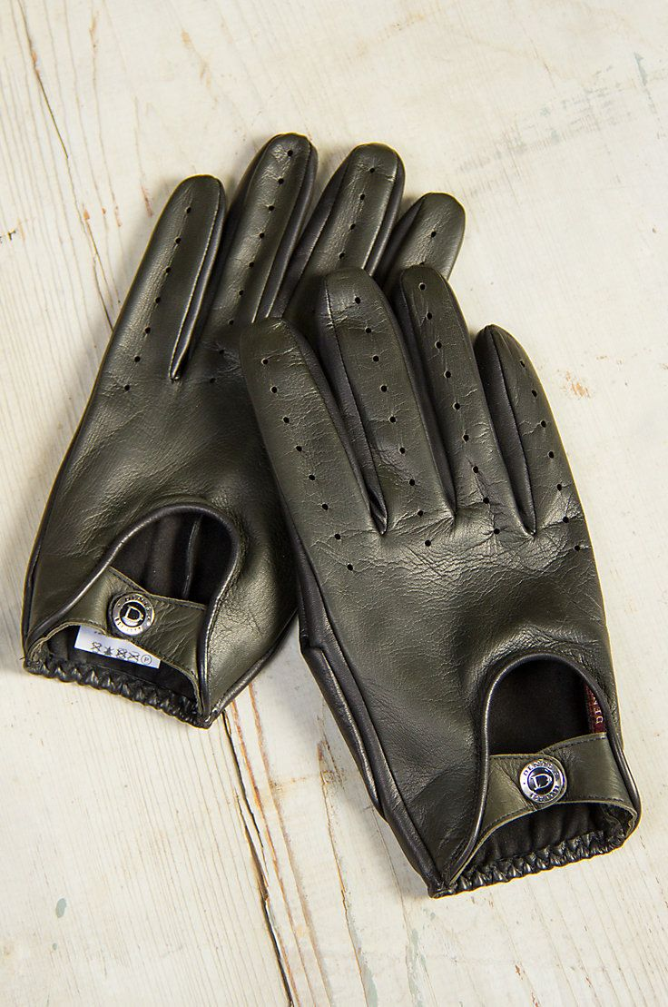 Leather driving gloves with zipper - Dents Woburn Unlined Lambskin Leather Driving Gloves Are Designed For Comfort And Status