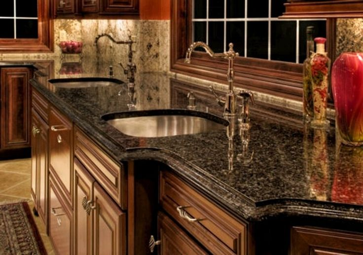 Kitchen Countertop Materials | Granite Kitchen Countertop Do It Your Self Granite Countertops ...