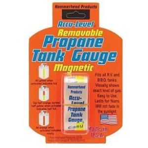 You will never run out of gas when you have a color changing magnetic Propane Tank Gauge. Next day shipping and great service with As Seen On TV Hot 10.