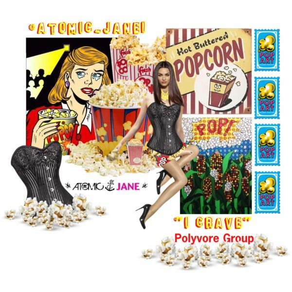 """""""Look What Popped Up""""  #ICRAVE Polyvore Group. Feel free to join us at:  http://www.polyvore.com/cgi/group.show?id=190093 #atomicjane @Atomic_Jane1  http://atomicjaneclothing.com"""