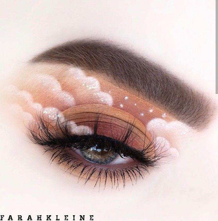 Head In The Clouds Eye Makeup Art Creative Eye Makeup Artistry Makeup