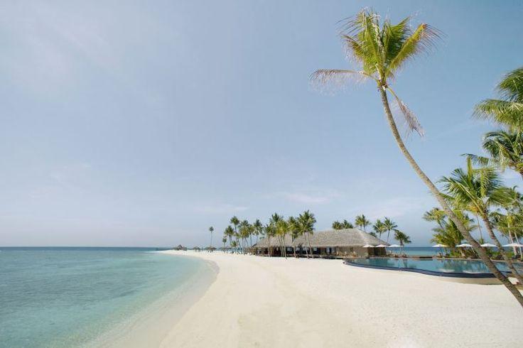 10- On achève ce tour de l'Asie par un véritable paradis, l'île de Veligandu aux Maldives. Sable blanc, eaux limpides, récifs coralliens, rien ne manque à votre bonheur.