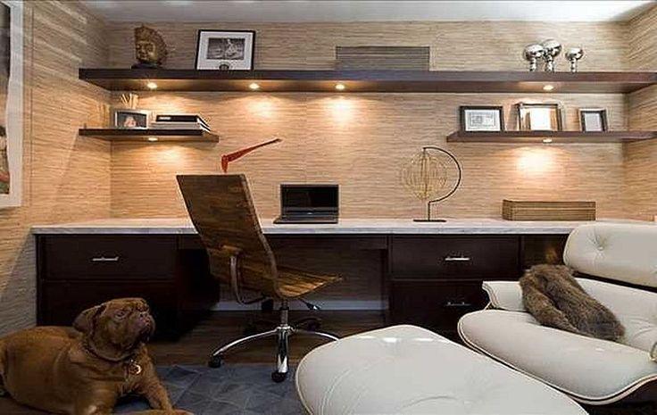 Best 20 man office decor ideas on pinterest men 39 s for Simple home office ideas