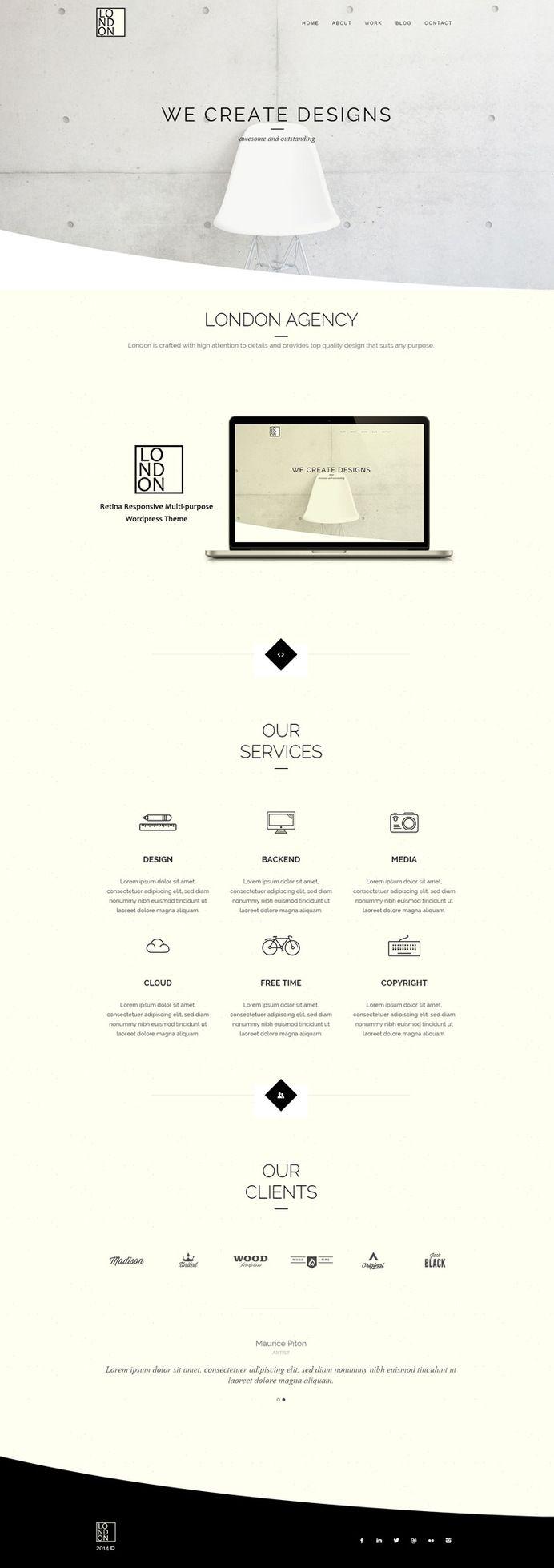 minimalist, minimal, website, concept, clean, layout
