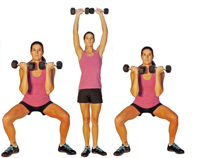 Compound exercises - workout multiple muscles at once! Cut your workout in half.... Yay