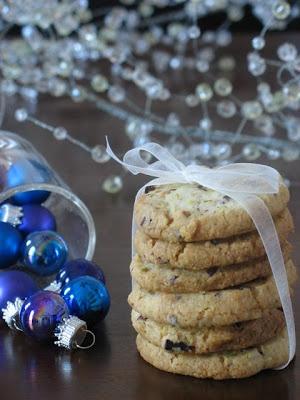 pistachio cocoa nib cookies | delicious - dessert | Pinterest