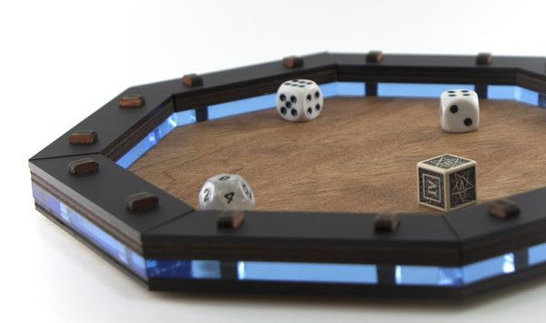 If you're a table top gamer you are likely used to throwing dice. You are probably also used to that one player who chucks the dice with wild abandon and they f