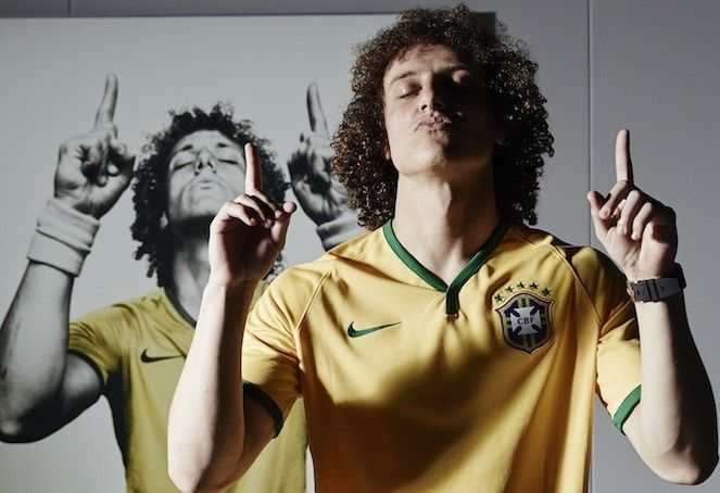 David Luiz XWHY Magazine #brazilia #rio #worldcup