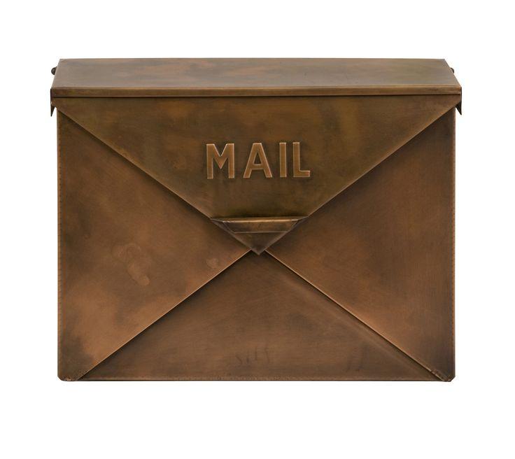 Woodland Imports Wall Mounted Mailbox