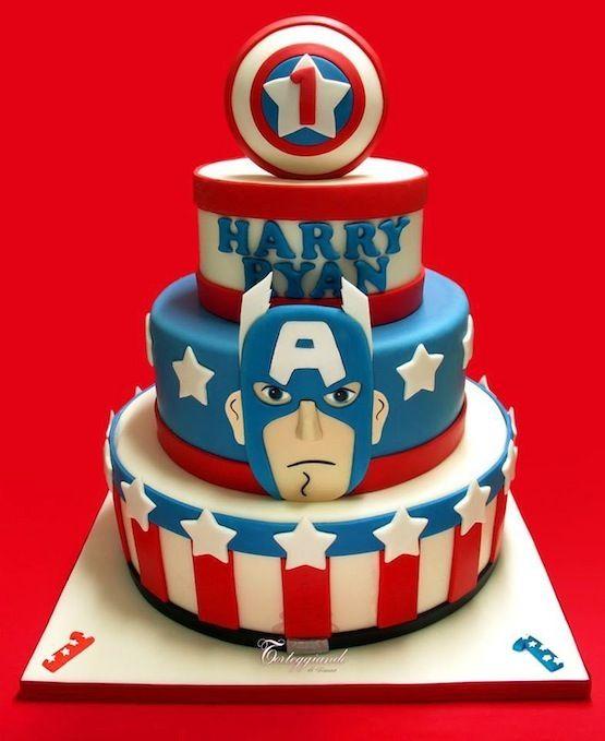 torta-capitan-america