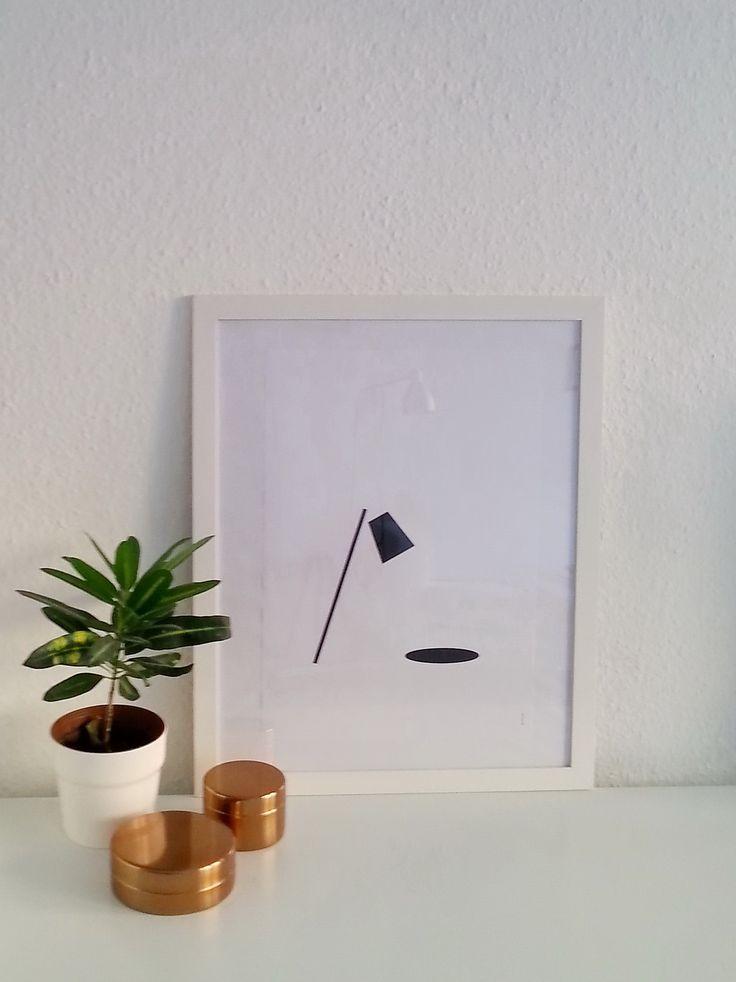 DIY print - lamp light