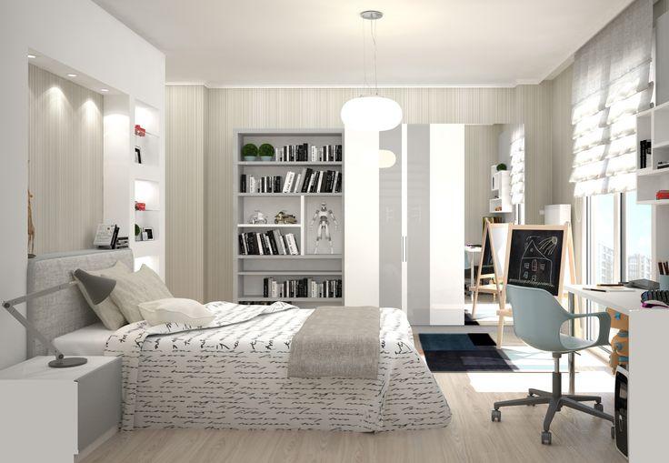 Yatak Odası Tasarımı BF iç mimarlık - Bedroom Design - İstanbul
