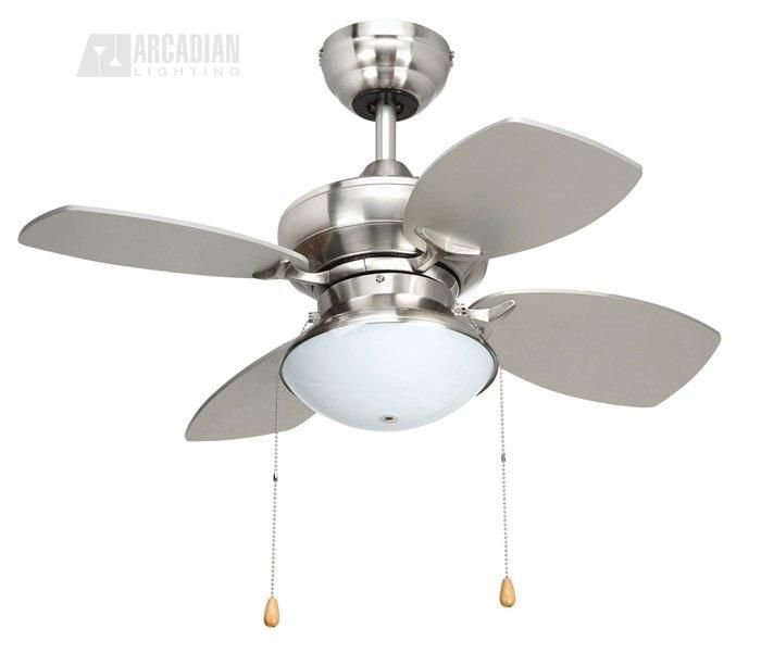 Yosemite home decor hurricane bs ceiling fan with light kit and silver walnut blades brushed steel