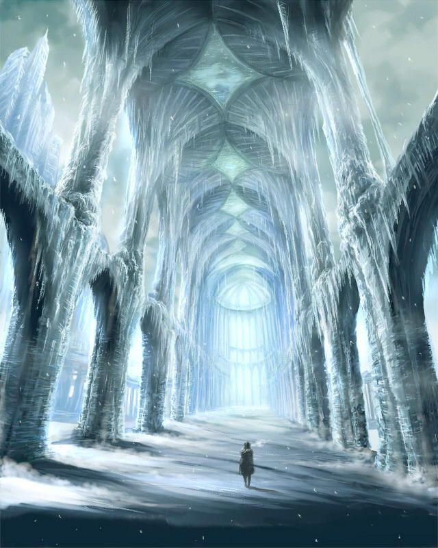 Frozen cathedral - artist?