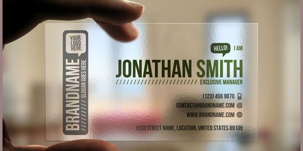 http://www.bce-online.com/en/shop/business-cards/business-cards-crystal-transparent.html #transparent-business-cards: Design Inspiration, Creative Business Cards, Idea, Transparent Business, Cards Designbusinesscard, Biz Cards, Graphics Design, Typefacelogosbusi Cards, Business Cards Design