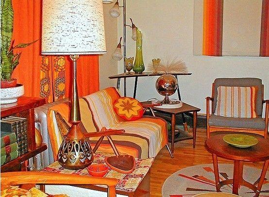 Orange a go go: Orange For The Hom, Design Floors, Orange Orange, Dreams Living Rooms, Interiors Design, Decor Floors, Orange Rooms, Floors Design, Sewing Rooms