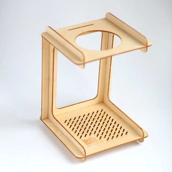 C for Cone  Pourover Coffee Stand by TheMakeLab on Etsy