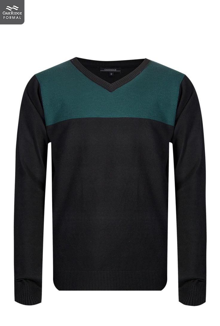 Mens Colourblock Pullover | Dapper Lad