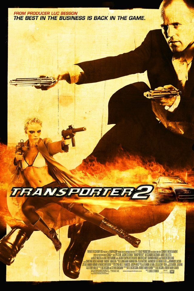 All of the Transporter movies are  great fun, fight scenes are unbelievably choreographed, albeit also unbelievable.  Kate Nauta in this one makes a very good very bad girl.