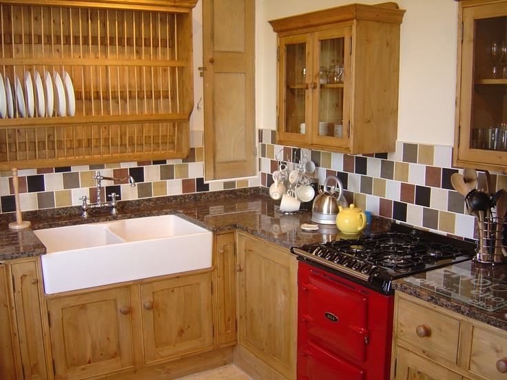 "Kitchen in the ""no 4"" Cottage - Salmon Pink on the main picture"