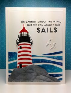 Guiding Lights: PTI, nautical, summer, by beesmom - Cards and Paper Crafts at Splitcoaststampers