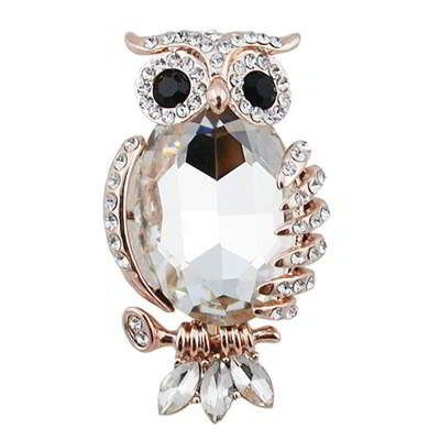 Diamond Owl Shape  Rose Gold. Fashionable with passion REPIN if you like it.😊 Only 65 IDR