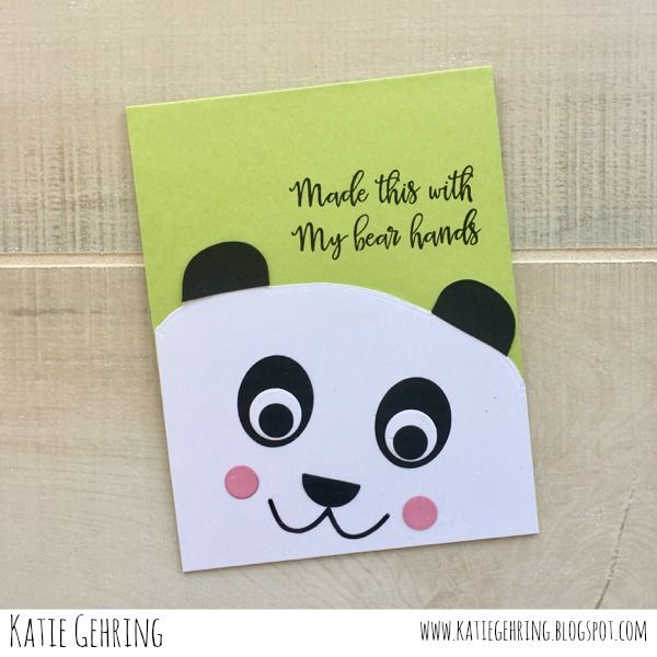 Paper Smooches Critter Card Puns stamp set, Bear Frog Card dies and Cat Dog dies