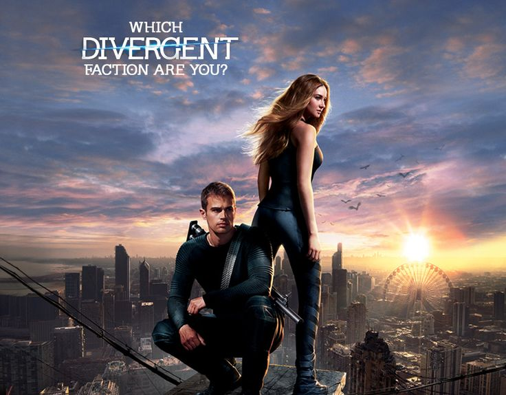Which 'Divergent' Faction Are You? (I got Erudite) | Zimbio quiz. Take both this one and Buzzfeed's (also pinned) and compare.