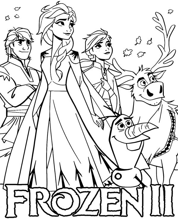 Frozen Ii Kolorowanka Dla Dzieci E Kolorowanki Eu Cute Coloring Pages Disney Princess Coloring Pages Birthday Coloring Pages