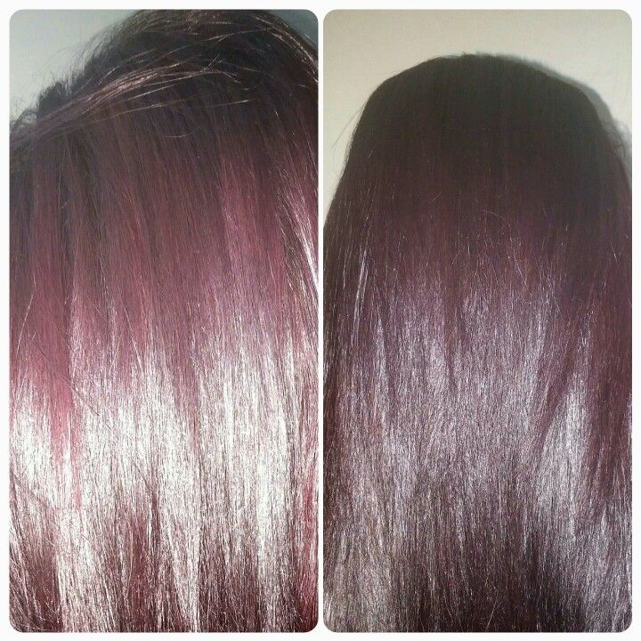 Done with Vidal Sassoon London Lilac 5VR. I am very satisfied with the results!!