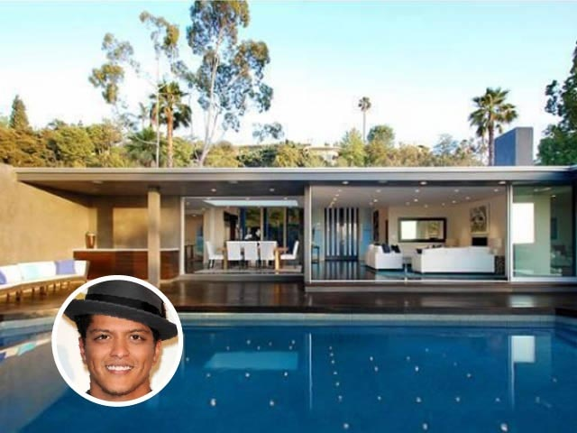 Bruno mars villa a laurel canyon los angeles 3 milioni e for Home designs by bruno