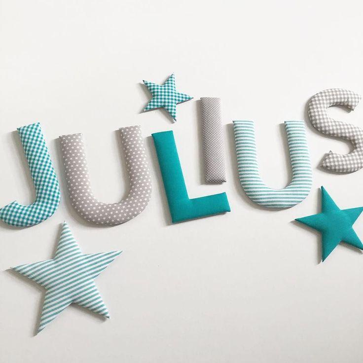 Buchstaben Für Kinderzimmer – Dekoration Bild Idee