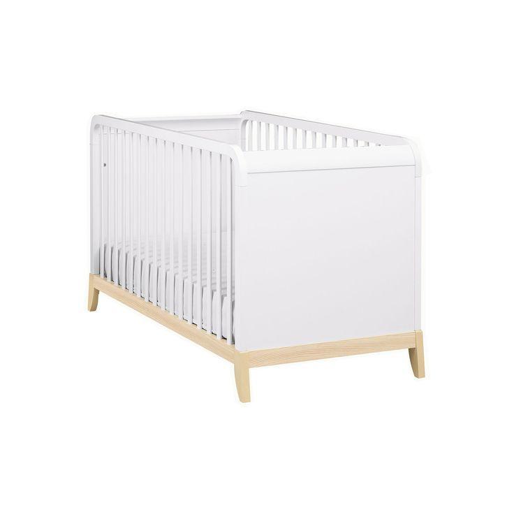 Lit bébé à barreaux 70x140cm - Flocon - Les lits enfants-Les meubles pour chambre enfant-Univers des enfants-Par pièce - Décoration intérieur - Alinea