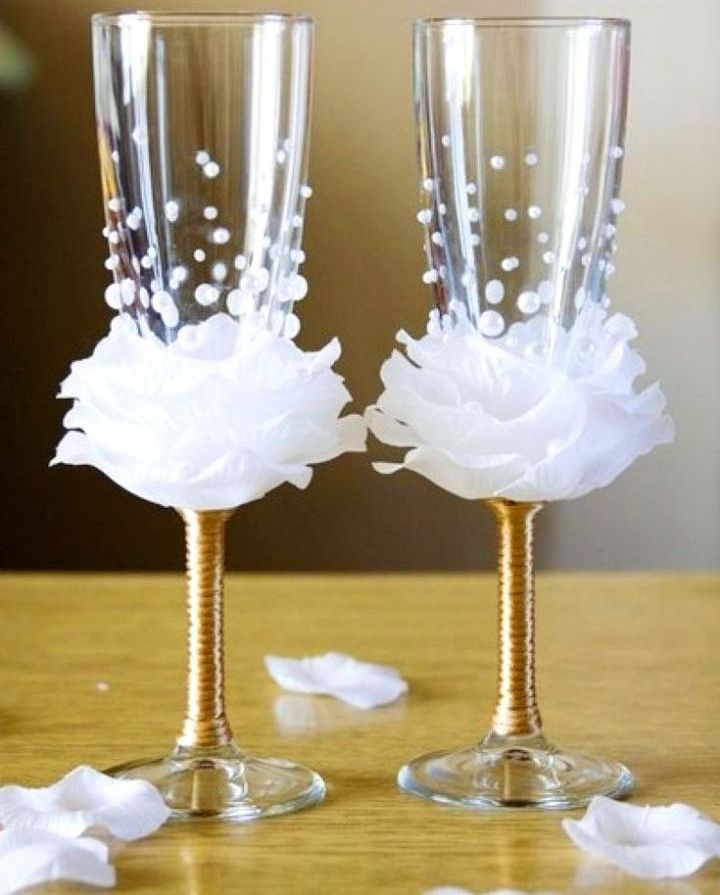 Про, картинки свадьба бокалы