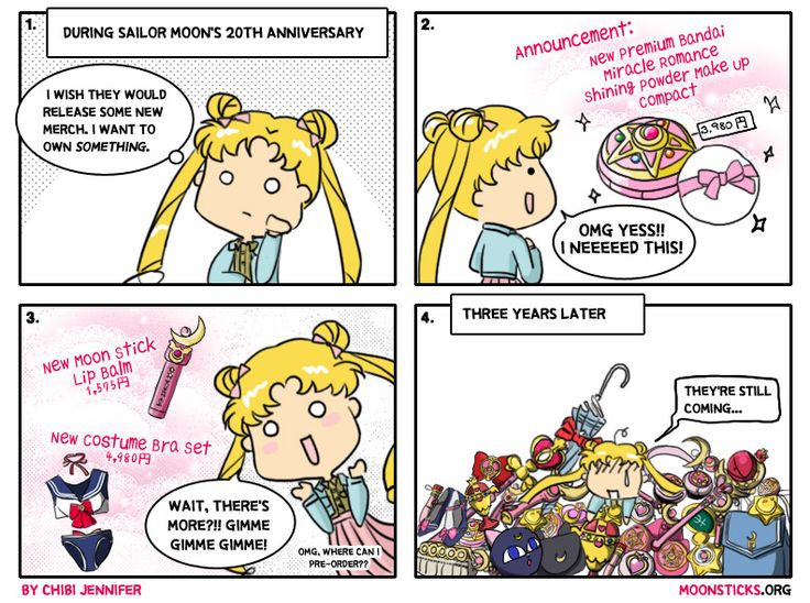 Sailor Moon Fans Be Like: