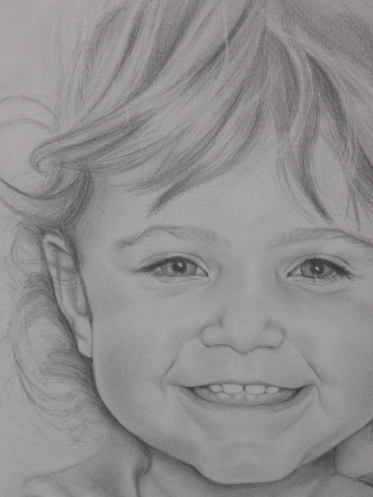 Riproduzione da foto in primo piano a matita. Idea regalo per immortalare un ricordo.