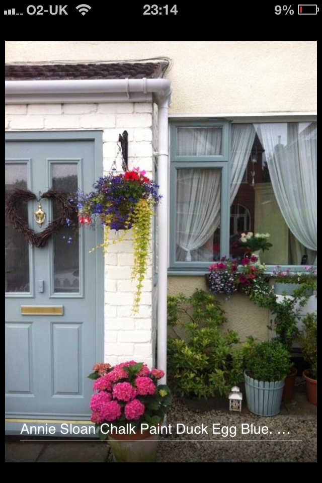 We Dont Sell UPVC Window Frames At Encore But Did Chalk Paint