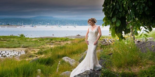 Filberg Park - Beauty Abounds - Sublime Celebrations - Gown by The Bride's Closet - Vancouver Island Weddings - Nanaimo Weddings - Comox Valley Weddings#vanisleweddings