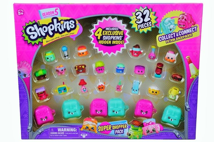FireflyBuys.com - Shopkins Season 5 Super Shopper Pack, Includes 4 Exclusive Shopkins Hidden Inside - Characters May Vary (32 Pieces), $24.99 (https://www.fireflybuys.com/shop-all/toys-games/action-figures/shopkins-season-5-super-shopper-pack-includes-4-exclusive-shopkins-hidden-inside-characters-may-vary-32-pieces/)