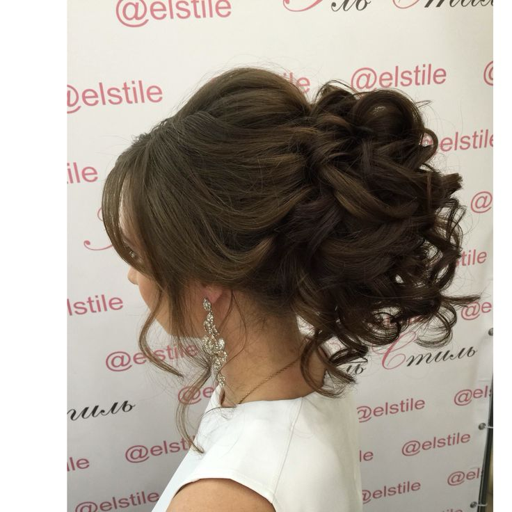 Lovely Bridal Look Make Up Hairstyles Web Www Elstile Ru: 17 Best Ideas About Kids Wedding Hairstyles On Pinterest